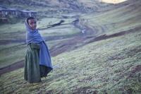 エチオピアの女の子