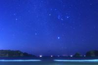 静岡県 弓ヶ浜と星空