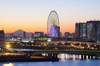 臨海副都心の夕景