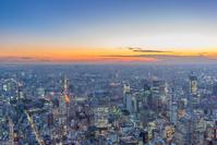 東京都 東京タワーライトアップと港区周辺マジックアワー