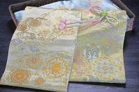 京友禅の着物と西陣織の帯