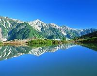 長野県・白馬村 八方池と白馬三山