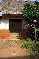 アフリカ ビシアセ神殿 祭壇