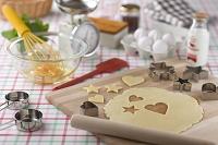 クッキー 型抜きと製菓道具