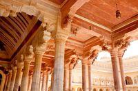 アンベール城 謁見の間 ジャイプール インド