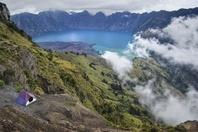 インドネシア ロンボク島 リンジャニ山