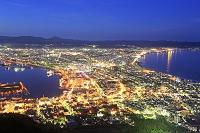 北海道 函館山から函館市の夜景