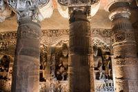 アジャンタ石窟 第26窟 ストゥーパ アジャンタ インド
