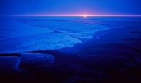 南極 白夜