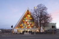 ニュージーランド クライストチャーチ 紙の聖堂
