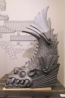 兵庫県 尼崎城の鯱瓦