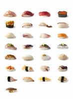 にぎり寿司集合