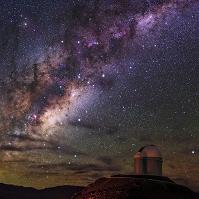 チリ アタカマ砂漠の星空