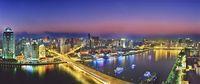 中国 広州市 夜景