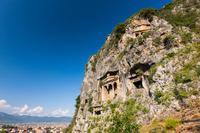 トルコ ムーラ県 フェティエの岩窟墓