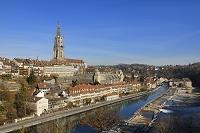 スイス ベルン 旧市街 アーレ川