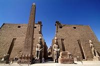 エジプト テーベ ルクソール神殿