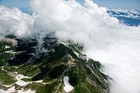 富山県 北アルプス 白馬岳と白馬山荘