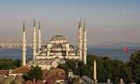 トルコ イスタンブール ブルー・モスク(スルタンアフメト・モス...