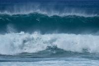沖縄県 国頭村 沖縄本島 台風の荒波