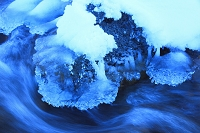 北海道 氷の川
