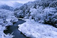 京都 洛北の雪景色