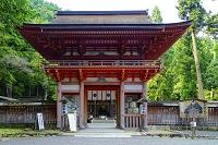 滋賀県 日吉大社 西本宮楼門(国重文)