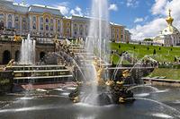 ピョートル大帝夏の宮殿 サンクトペテルブルグ ロシア