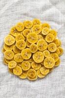 バナナチップス