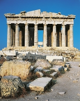 ギリシャ アクロポリス パルテノン神殿