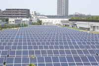 東京都 浮間水再生センター 太陽光発電