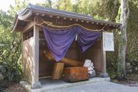 千葉県 房総半島 巌島神社 平和の愛鍵(男根崇拝)