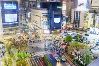 東京都 渋谷 交差点