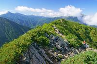 長野県 駒津峰から南アルプスの山々