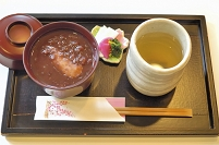 お汁粉と昆布茶