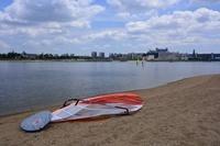 兵庫県 西宮市 甲子園浜 海浜公園 ウインドサーフィン