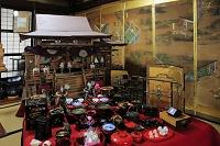 新潟県 町家の人形さま巡り 御殿飾り雛 源氏物語