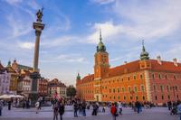 ポーランド ワルシャワ 旧市街 旧王宮