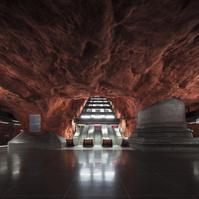 スウェーデン ストックホルム ルードフセット駅