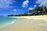 ハワイ ビーチと青空