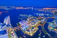 神奈川県 横浜港とみなとみらいの夜景