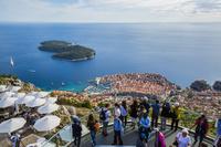 クロアチア ドゥブロヴニク スルジ山より旧市街