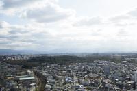 堺市の街並みと仁徳天皇陵