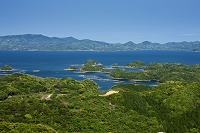 長崎県 新緑の九十九島