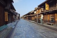 富山県 高岡市 金屋町 石畳続く鋳物師町