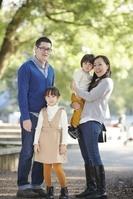 公園の家族