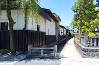 飛騨古川の白壁土蔵