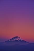 山梨県 櫛形山池の茶屋林道より富士山