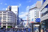 東京都 銀座4丁目のビル群