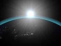 地球と日の出